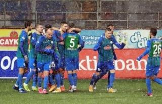 Çaykur Rizespor 3 golle
