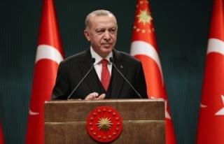 Erdoğan'dan kuraklık uyarısı