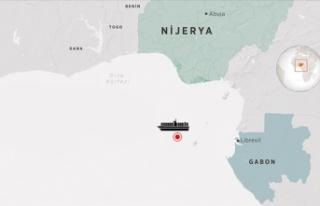 Korsan saldırısına uğrayan Türk gemisi Gabon'a...