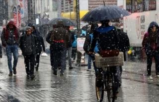 Meteoroloji uyardı: Bugün yağmur ve kar etkili...