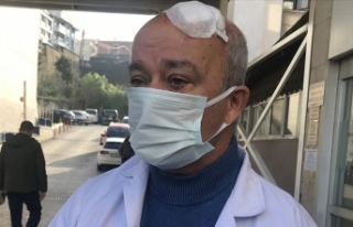 Sağlıkta şiddet bitmiyor: Maske uyarısında bulunan...