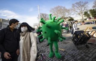 'Virüs maskotları' iş başında