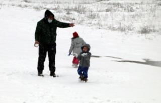 Yıldıztepe Kayak Merkezi kar yağışının ardından...