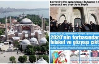 Yunanistan ve Sözcü bir safta: Ayasofya hazımsızlığı
