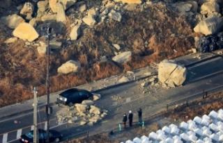 7,3 büyüklüğünde deprem, 100'den fazla yaralı