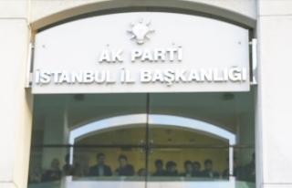 AK Parti İstanbul İl Başkanlığı'nda istişare...