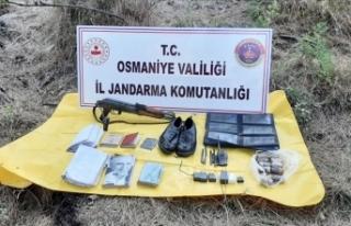 Amanoslar'da PKK'ya operasyon