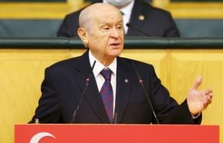 Bahçeli: Bizler milleti bir görüyor ve Türk milleti...