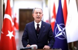 Bakan Akar'dan NATO Toplantısında terörle mücadele...