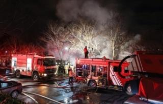 BoğaziçiÜniversitesi Kampüsü'nde yangın