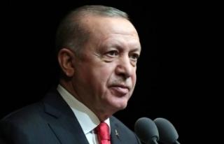 Cumhurbaşkanı Erdoğan M. Emin Saraç'ın cenaze...