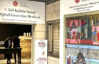 Dijital minyatür sergisi açıldı
