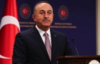 Dışişleri Bakanı Çavuşoğlu'ndan Batı'ya...