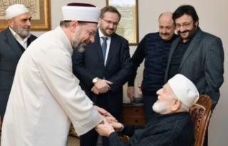 Diyanet İşleri Başkanı Erbaş, M. Emin Saraç...