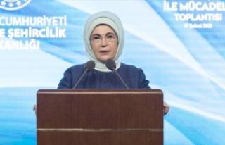 Emine Erdoğan: Yeni yaşam kültürleri inşa etmeliyiz