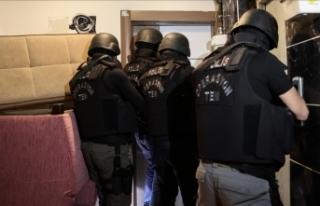 Hücre evlerine baskın: Çok sayıda gözaltı