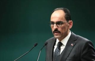 İbrahim Kalın'dan AB Komisyonu Sözcüsüne...