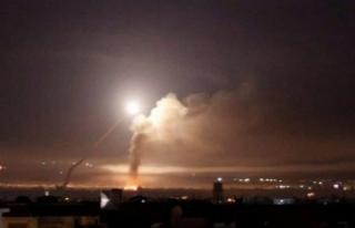 'İsrail Şam'ı füzelerle vurdu'