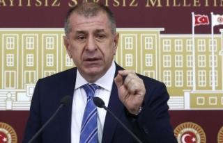 İYİ Parti'den ihraç edilen Ümit Özdağ'dan...