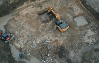 İzmir'de depremin yıktığı binaların yerine...