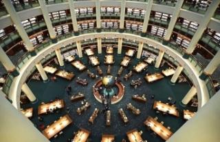 Millet Kütüphanesi'ne yapılan ziyaretçi sayısı...
