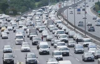 TÜİK: 3 bin 866 aracın trafikten kaydı silindi
