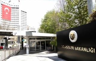 Yunan Büyükelçi Dışişlerine çağrıldı
