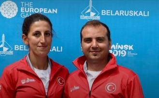 2019 Avrupa Oyunları'nda Türkiye'ye ilk madalya okçuluktan