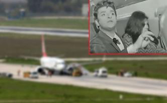 Uçakta panik... Zeki Müren'in o sahnesi gerçek oldu!