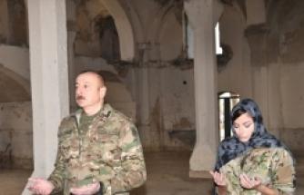 İlham Aliyev'den 27 yıl sonra Ağdam'a tarihi ziyaret