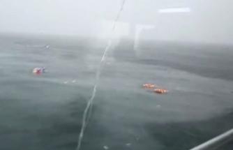Bostancı'da helikopterin düştüğü anlar kameraya yansıdı