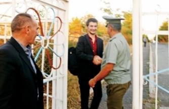 Ermenistan'da tutuklanan Ali serbest bırakıldı