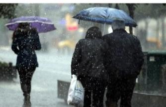 Meteorolojiden Marmara Bölgesi'ne sağanak uyarısı