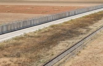 TOKİ tarafından inşa edilen Suriye sınır duvarı bitmek üzere
