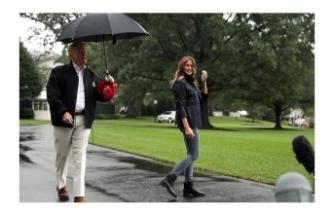 Aman Trump ıslanmasın!
