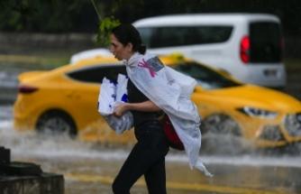Ankara'yı sel bastı