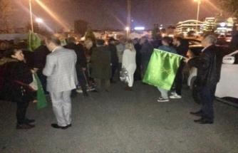 Çerkeslerden Kanal D'ye protesto