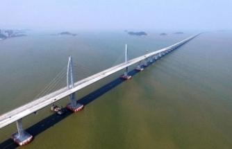 Çinliler dünyanın en uzun köprüsünü yaptı