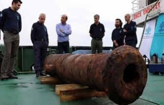 Denizin dibinden Rus savaş gemisi çıktı