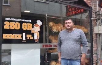 Ekmeğin fiyatını 1 liraya indirdi, işleri yüzde kırk arttı
