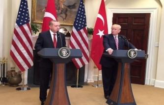 Erdoğan, Trump ile gündemi değerlendirdi
