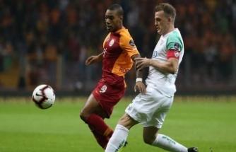 Galatasaray sakata geldi 1-1