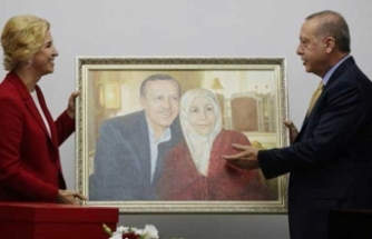 Gökoğuzlar'dan Erdoğan'a anlamlı hediye