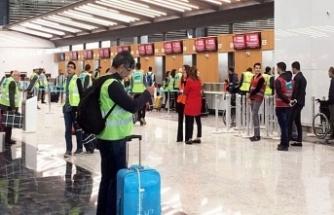 İstanbul Yeni Havalimanı'nda son deneme tamamlandı