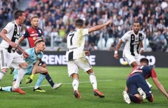 Juventus'un golünü atan Ronaldo'dan bir rekor daha