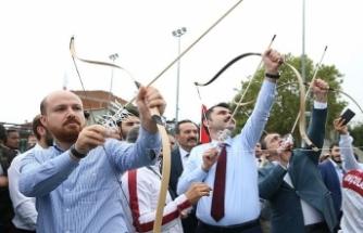 Türk okçuluğu sevdalıları İstanbul'da yarıştı