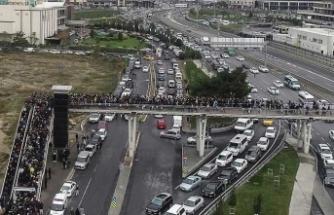 Bugün İstanbul... TÜYAP yoğunluğu