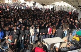 Cemal Kaşıkçı için gıyabi cenaze namazı Fatih Camisi'nde kılındı