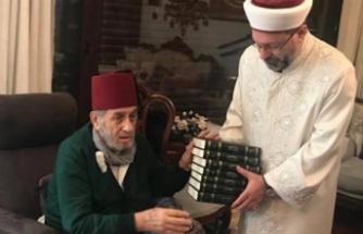Diyanet'ten Kadir Mısıroğlu'na ziyaret