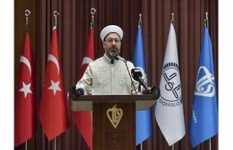 Diyanet İşleri Başkanı Erbaş'dan aile vurgusu